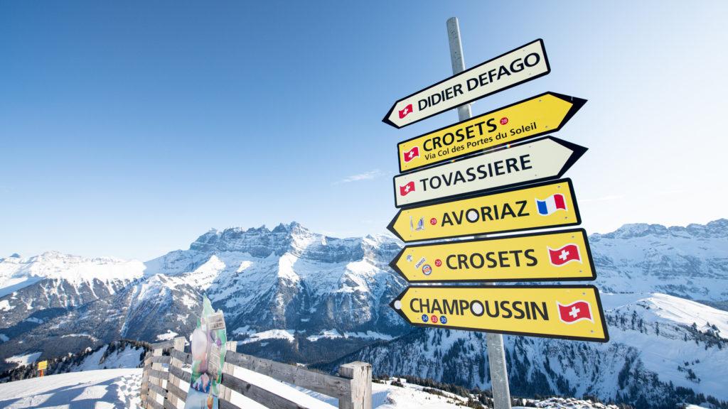 Un domaine transfrontalier entre la Suisse et la France